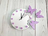 """Годинник настінний """"Метелик"""" \ часы настенные бабочки"""