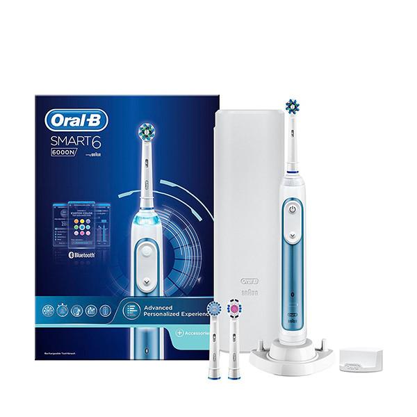 Зубная щетка Oral-B Genius Smart 6 с Bluetooth ЕС