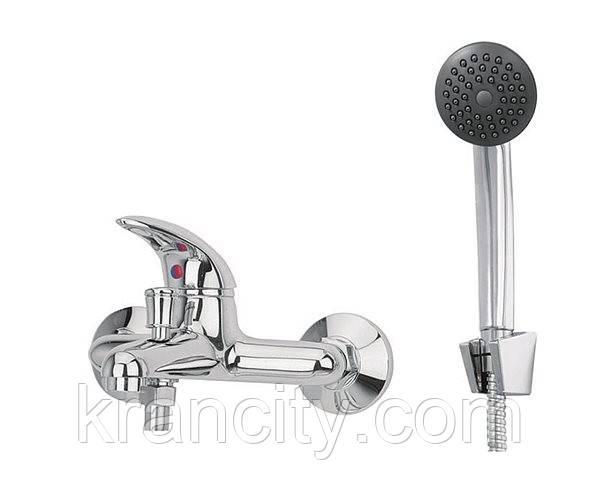 Смеситель для ванны однорычажный Deante Taga BFT 011M, с душевым комплектом