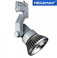 Трековый 3-фазный светильник Megatron Loft для ламп PAR38 серый