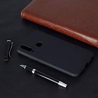 Чехол Soft Touch для Vivo Y15 силикон бампер черный