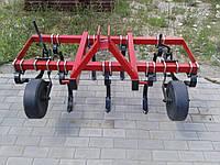 Культиватор КСО-1.5 (9 зубьев, 2 ряда) пружинный сплошной обработки, фото 1
