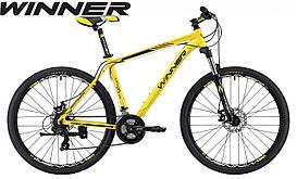 """Велосипед Winner 27,5"""" IMPULSE рама 17"""" 2020 жовтий WI000189 (19-136)"""