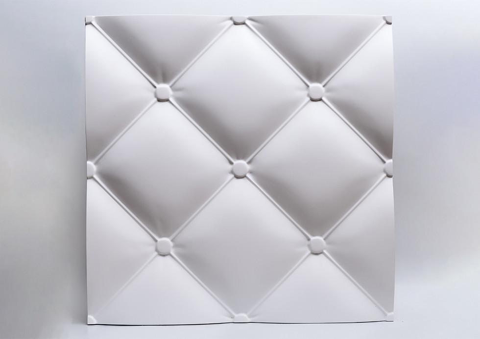 """Гипсовые 3D панели """"Италия"""" Белый 500*500*28 мм"""