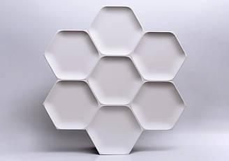 """Гипсовые 3D панели """"Honey"""""""
