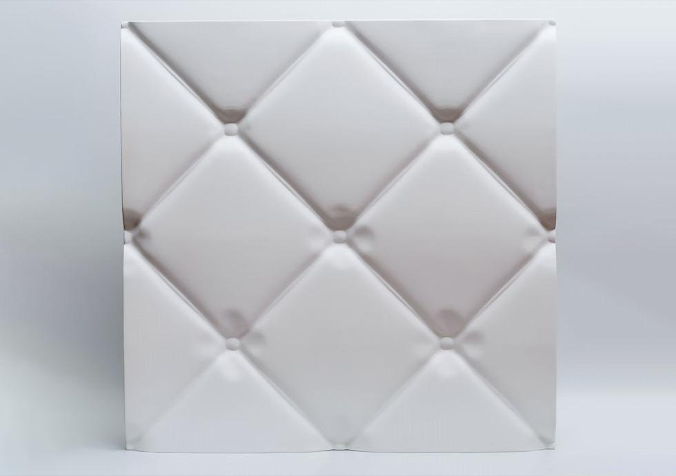 """Гипсовые 3D панели """"Подушка"""" Белый 500*500*25 мм"""