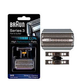 Сітка і ріжучий блок Braun 31S (5000/6000) Series 3 ЄС