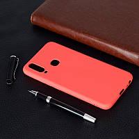 Чехол Soft Touch для Vivo Y15 силикон бампер красный