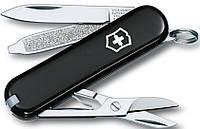 Надежный карманный складной нож Victorinox Classic Sd 06223.3 черный