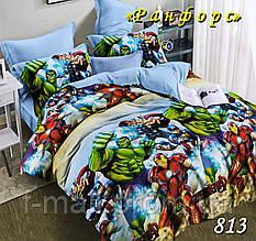 Комплект детского постельного белья Тет-А-Тет (Украина) ранфорс полуторное (813)