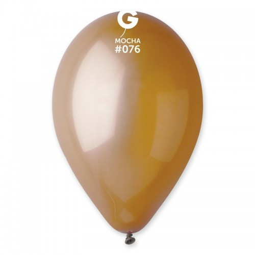 """Латексна кулька пастель Мокко 10"""" / 76 / 26  Mocha"""