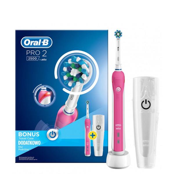 Зубная щетка Oral-B D501 PRO 2 For Women с футляром ЕС