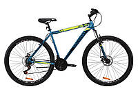 "Велосипед ST 29"" Discovery TREK AM DD 2020 (малахитовый с желтым (м))"