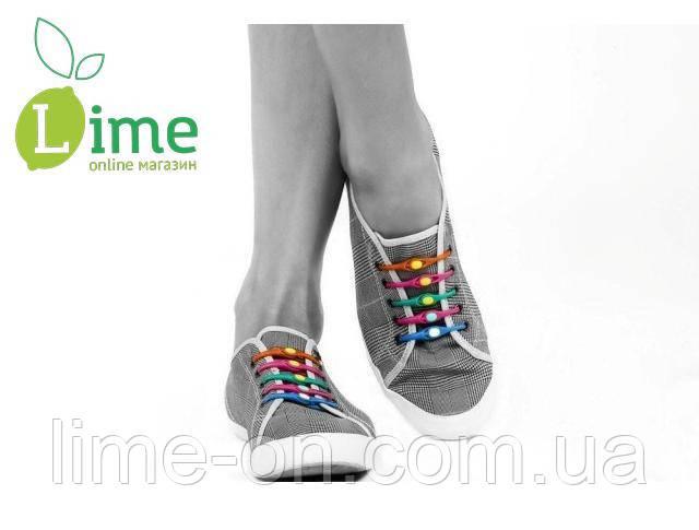 Силиконовые шнурки светящиеся, Hilaces 6 шт - LIME online магазин в Харькове