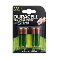 Аккумулятор Duracell Recharge Turbo DX2400 900 мАч блистер 4 шт