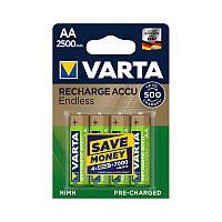 Аккумулятор Varta Endless R2U 56686 2500 мАч блистер 4 шт