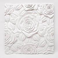 """Гіпсові панелі 3D """"Троянди"""""""