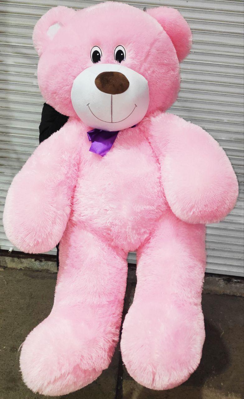 Огромный розовый плюшевый медведь мягкая игрушка большой мишка 1.8 метра