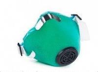 Респиратор У2К марля (код-ОЗК), голубой