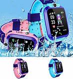 ХИТ Умные детские часы с камерой и фонариком Smart Watch S9 gps Розовый смарт, фото 4