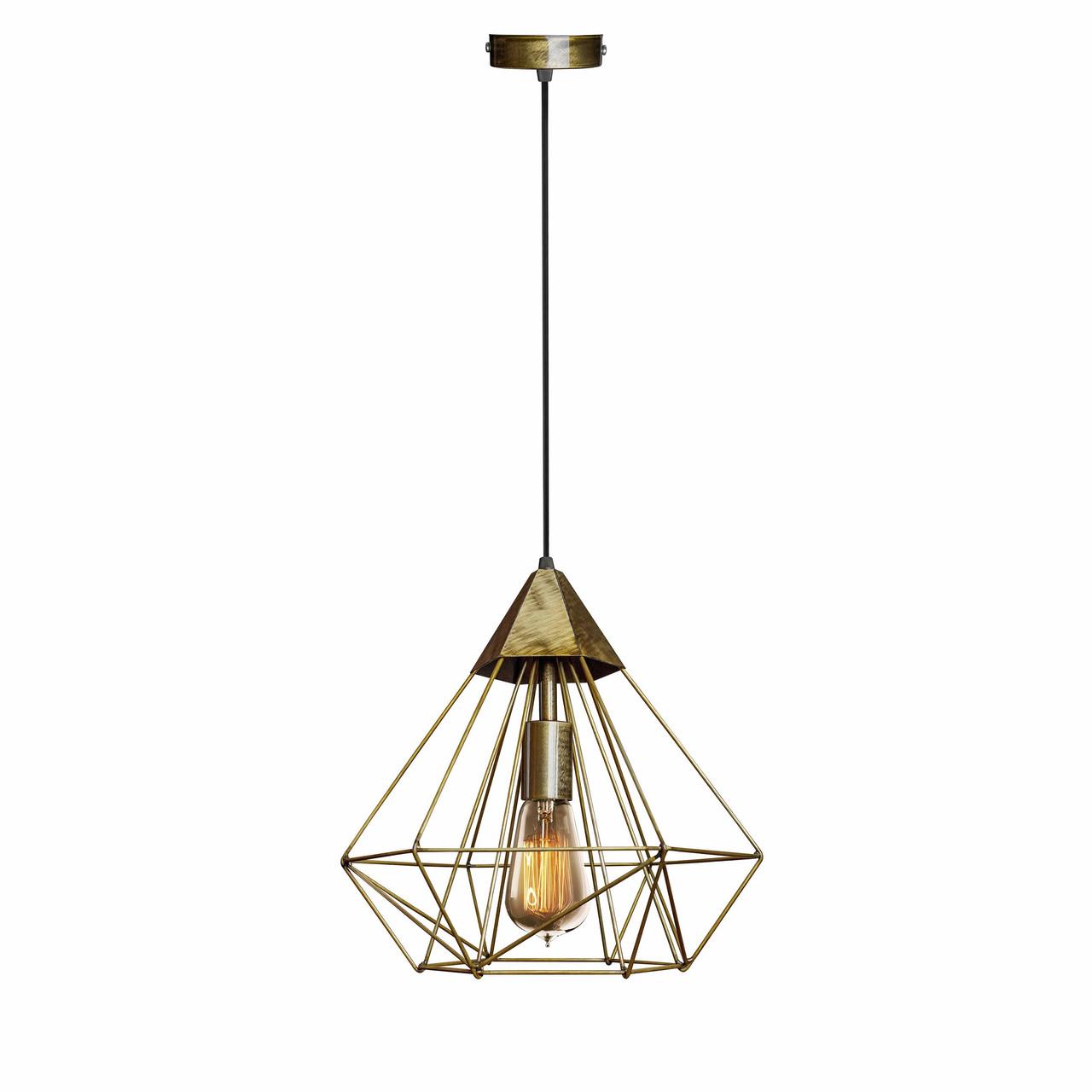Светильник подвесной в стиле лофт MSK Electric NL 0538 BN  бронза