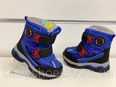 Зимние термо-ботинки, сноубутсы для мальчика Tom.m  р.23-30, ЗМ-207
