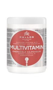 Маска для волосся Kallos multivitamin з екстрактом женьшеню і маслом авокадо 1000 мл