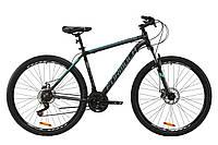"""Велосипед AL 29"""" Formula THOR 2.0 AM DD 2020 (черно-бирюзовый с серым (м))"""