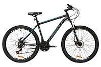 """Велосипед AL 27.5"""" Formula THOR 2.0 AM DD 2020 (черно-бирюзовый с серым (м))"""
