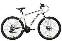 """Велосипед AL 27.5"""" Formula THOR 1.0 AM DD 2020 (бело-красный с черным)"""