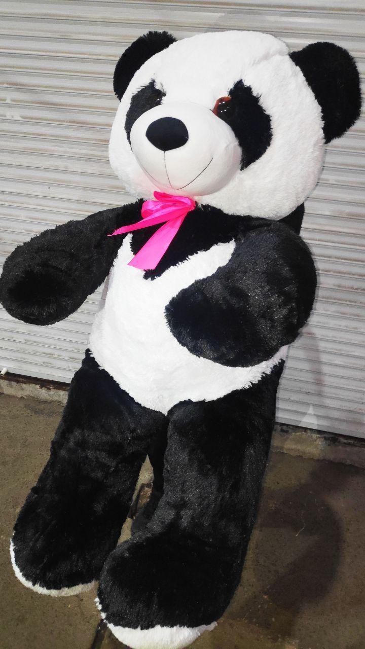 Большая милая плюшевая панда огромный медведь мягкая игрушка 1.5м