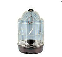 Круглая клетка для небольших попугаев. (Лилу) D33*56,5см, фото 1