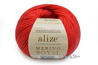 Alize  Merino Royal, Красный №56