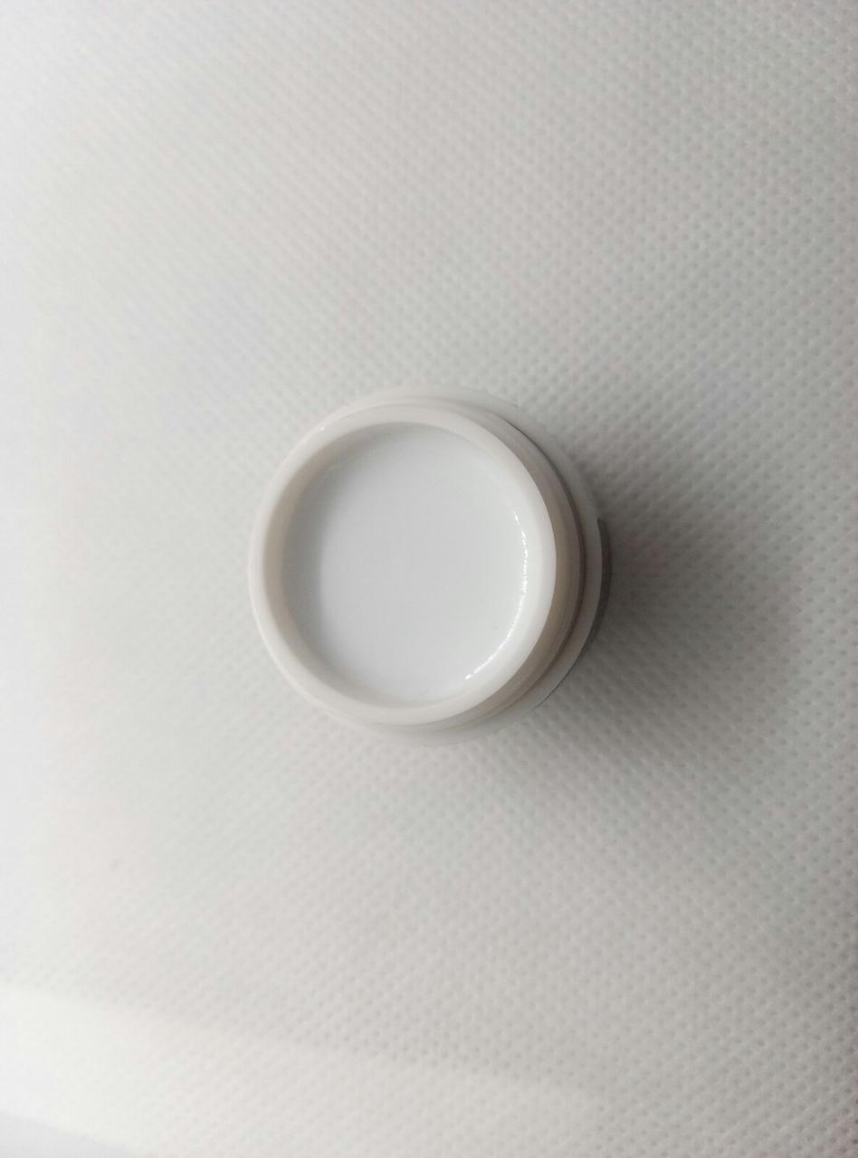 Полигель PolyGel City Nail для моделювання нігтів 059 White ультра-білий 15 мл