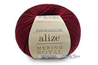 Alize  Merino Royal, Бордо №323