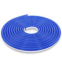 Гибкий Led неон 12v синий # 55-B 120B2835-12V-6W/m IP65 8*16mm №1