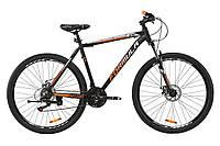 """Велосипед AL 29"""" Formula MOTION AM DD 2020 (черно-оранжевый с серебристым (м))"""