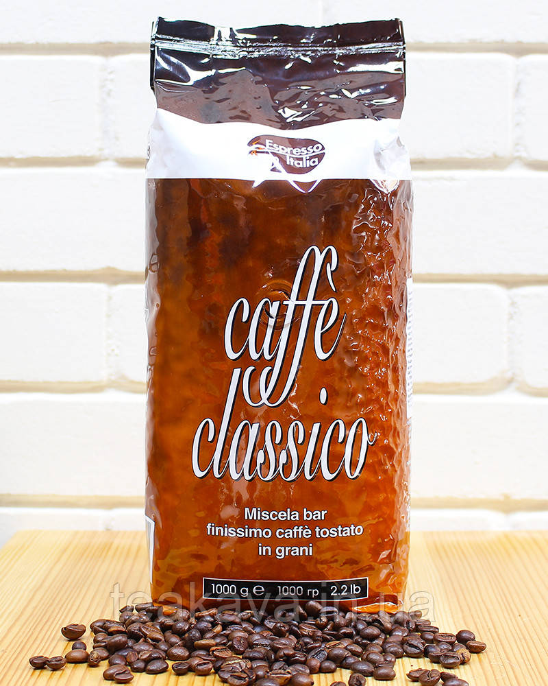 Кава в зернах Gimoka Espresso Italia Caffe Classico, 1 кг (20/80)