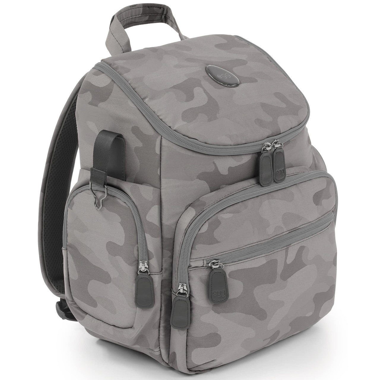 Сумка-рюкзак в коляску Egg Camo Grey