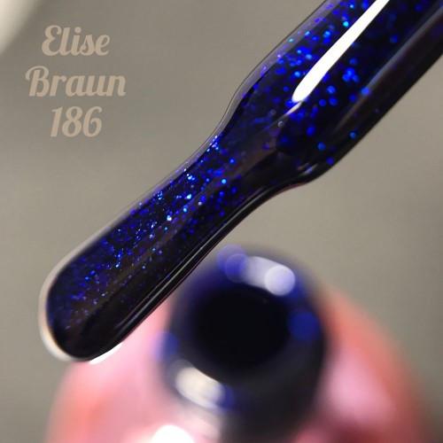 Гель-лак Elise Braun 15 мл, № 186