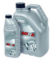 Масло моторное полусинтетика для двигателей с газовой установкой ADWA  GAS (LPG) 10W-40,   0.9L
