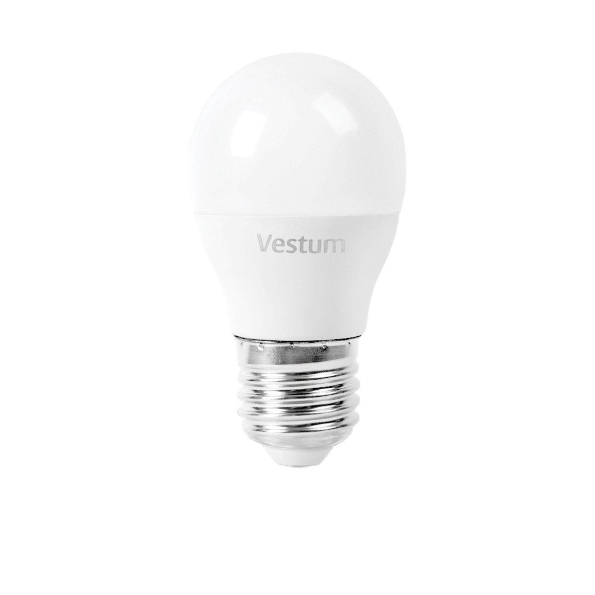 Лампа LED Vestum G45 4W 4100K 220V E27