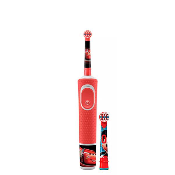 Детская зубная щетка Oral-B D100 Kids Тачки 2 насадки ЕС
