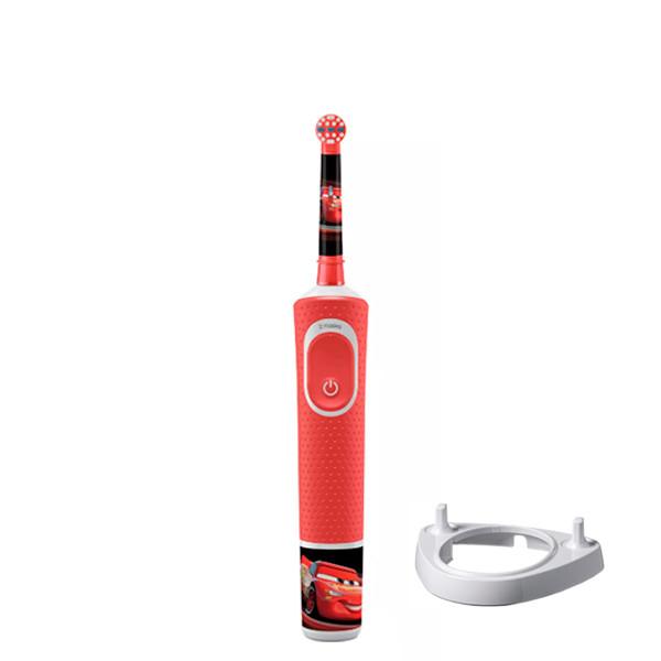 Детская зубная щетка Oral-B D100 Kids Тачки + подставка ЕС