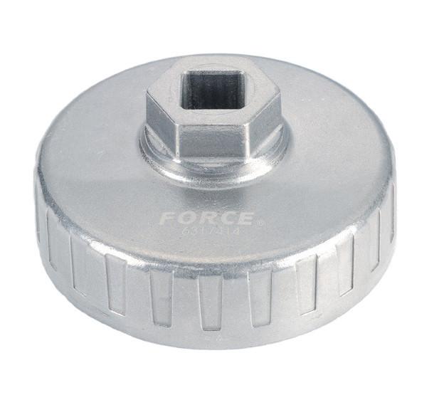 Съемник масляного фильтра крышка 84мм-18гр. (PEUGEOT, CITROEN, RENAULT)