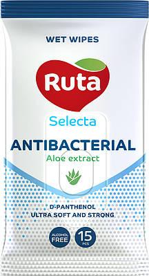 "Вологі серветки ""Ruta Selecta"" Antibacterial (15 шт)"