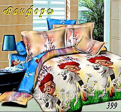 Комплект детского постельного белья Тет-А-Тет (Украина) ранфорс полуторное (399)