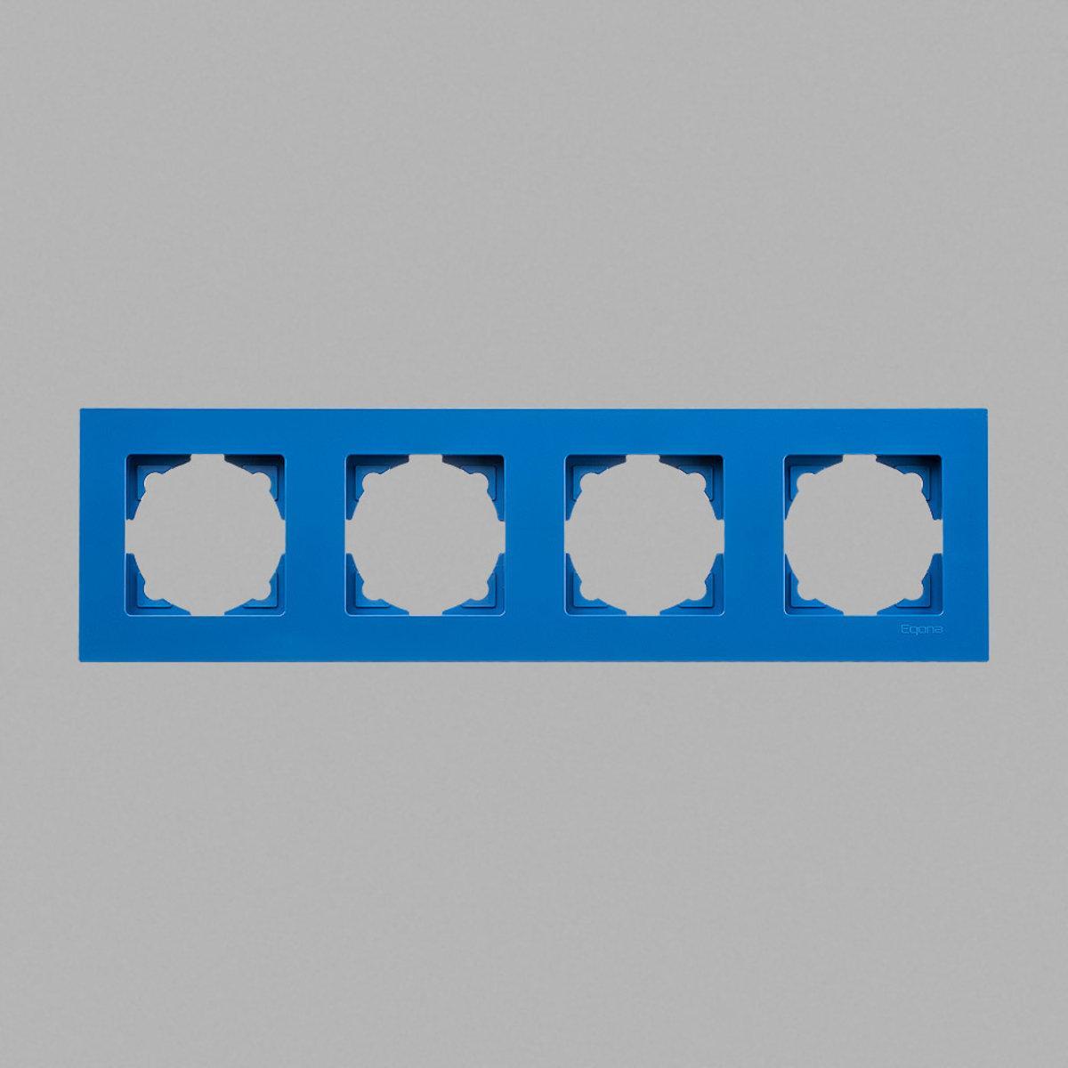 Eqona рамка 4-ая голубая