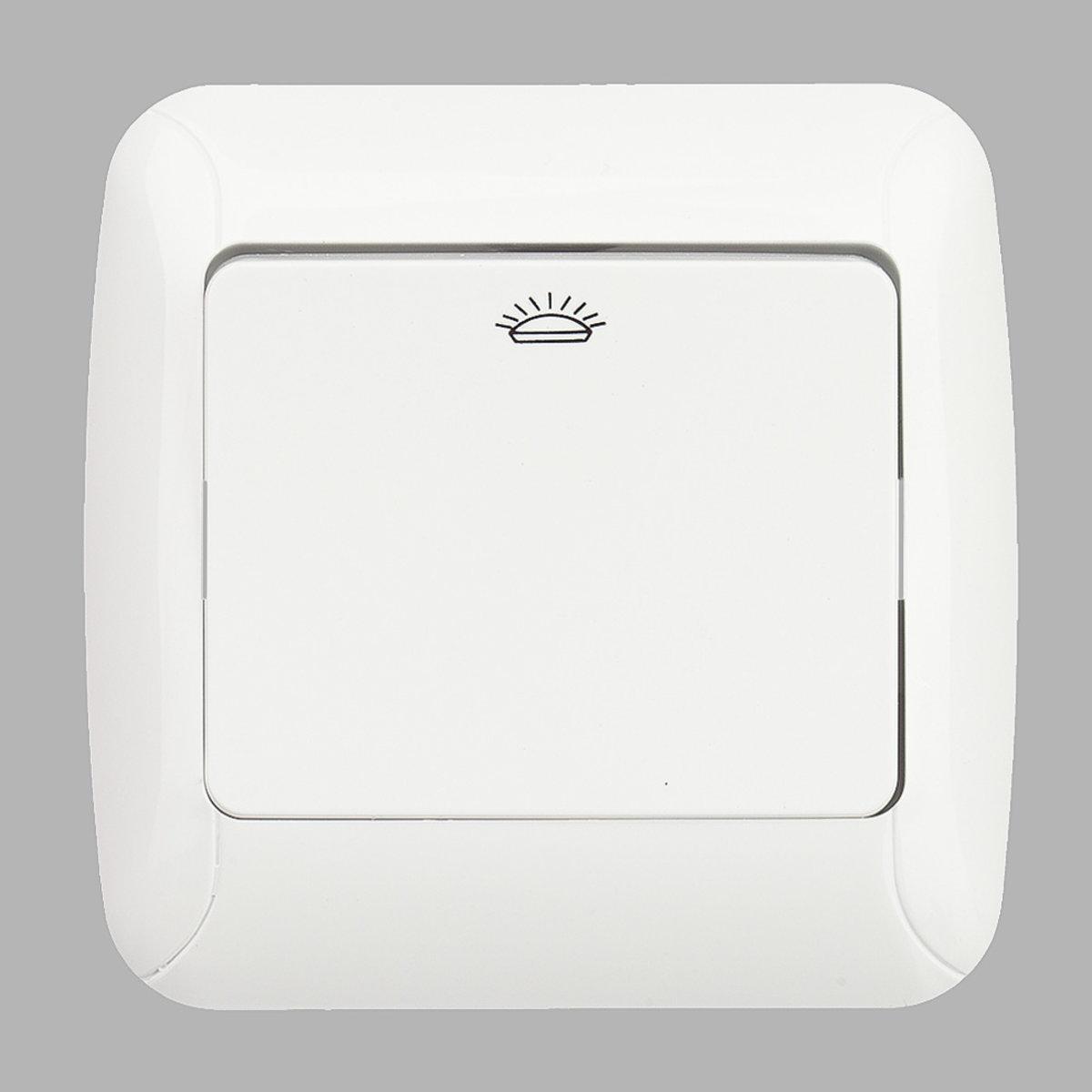 Fantasy кнопка контроля освещения белая