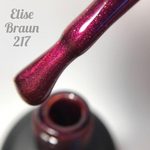 Гель-лак Elise Braun 15 мл, № 217